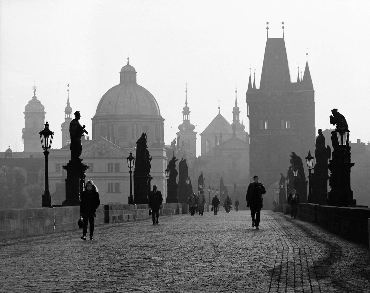 1992_Prag,Karlsbrücke